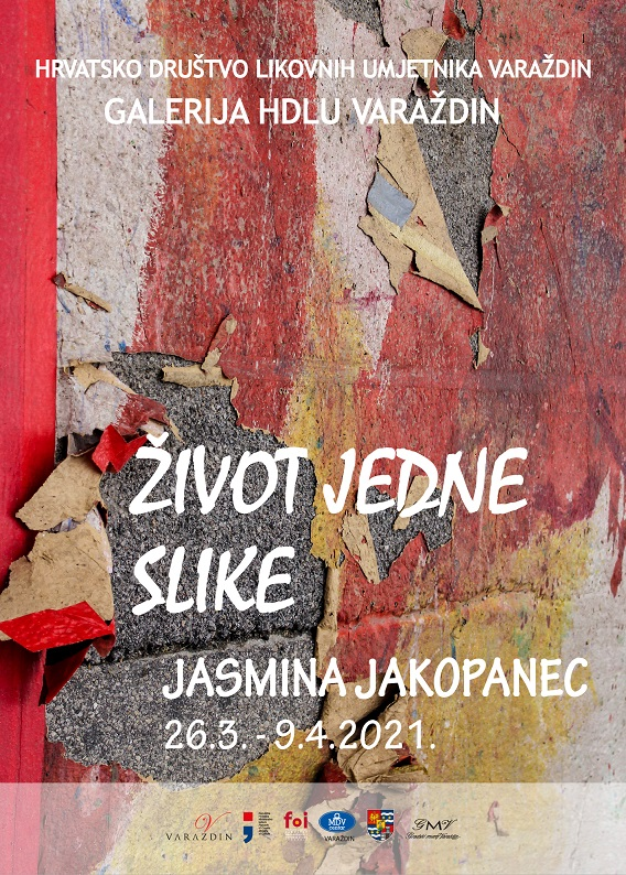 """Izložba """"Život jedne slike"""" mlade umjetnice Jasmine Jakopanec"""